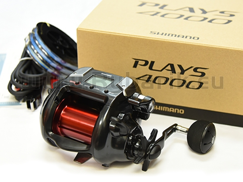 04c3b47b5ae elektrický multiplikátor Shimano Plays 4000 (18379) - Elektrické ...
