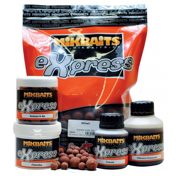 Boilies Mikbaits eXpress original