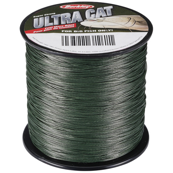 Šnúra Berkley Ultra Cat Moss Green 0,65mm / 100kg