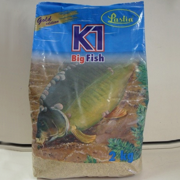 Vnadiaca zmes Lastia Gold Edition K1 Big Fish 2kg