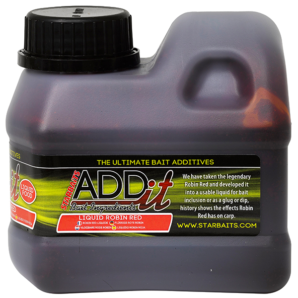 Liquid Starbaits ADDit Robin Red 500ml