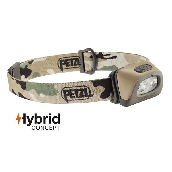 Čelovka Petzl Tactikka Plus RGB model 2017