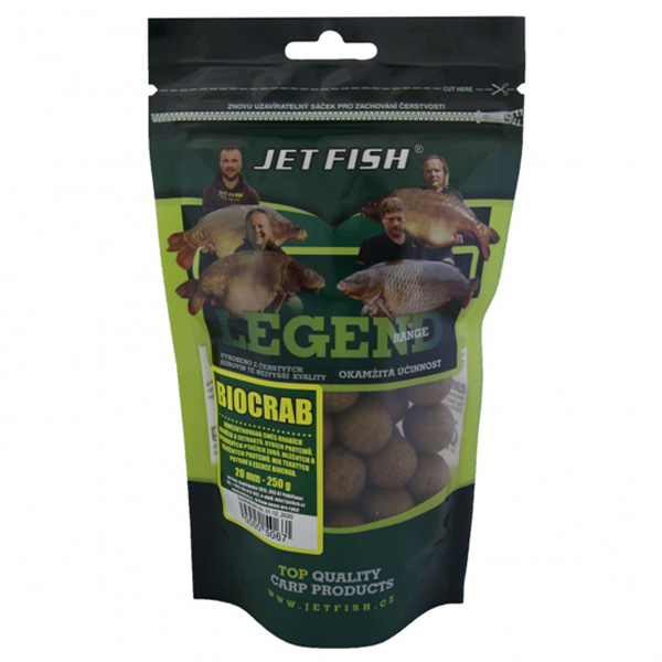 Boilies Jet Fish Legend 20mm - 250g