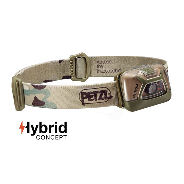 Čelovka Petzl Tactikka model 2017