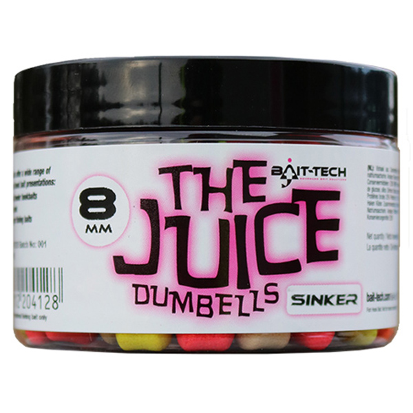 Dumbelky Bait-tech The Juice Dumbells Sinker - potápavé