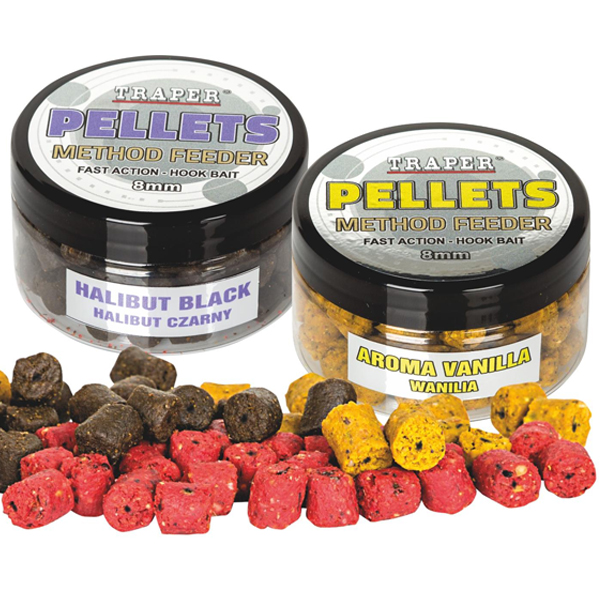 Chytacie pelety Traper Method Feeder Pellets 8mm