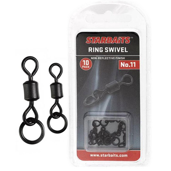 Obratlík s krúžkom Starbaits Ring Swivel
