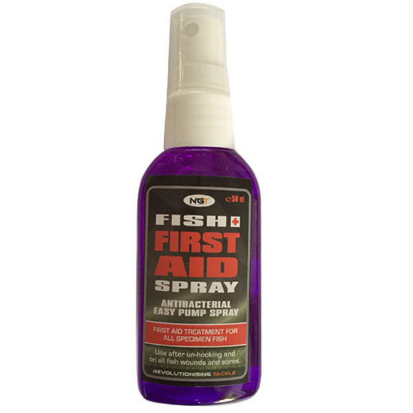 Dezinfekčný prípravok NGT Fish First Aid Spray 50ml