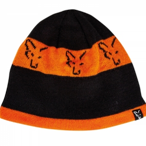 Čiapka Fox Black/Orange Beanie